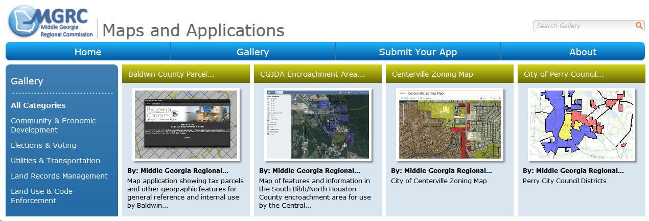 Image of mgrcmaps.org web site header